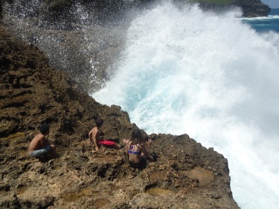 beautiful big wave at Segoro Anakan