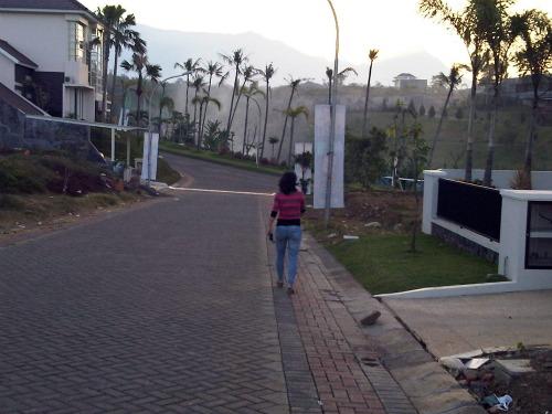 A street in City view, Villa Puncak Tidar, Malang