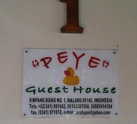 Peye guest House Malang