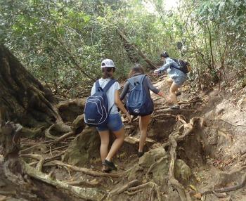 the way to Segoro Anakan