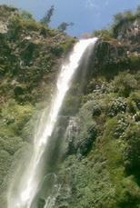 Coban Rondo waterfall in Batu