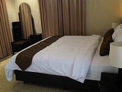 Deluxe room a Merbabu guest house Malang