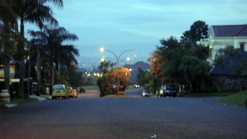 Other evening view of Villa Puncak Tidar, Malang