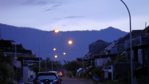 Evening in Villa Puncak Tidar, Malang