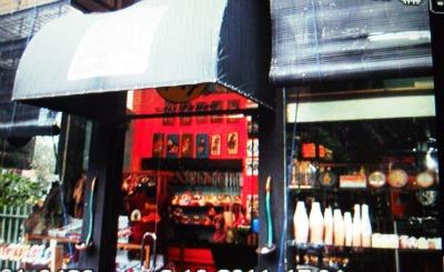 Inggil's souvenier shop in Malang