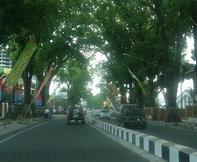 Jalan Kawi in Malang