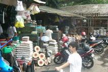 Anugerah at flower market Malang