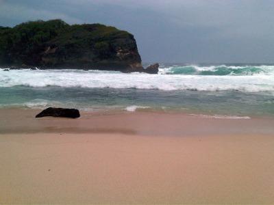 "Kembar I beach"" title="