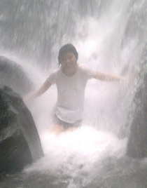 Kindeng under Coban Ondo waterfall Batu