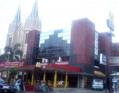 Mc Donald in a shopping center in Malang