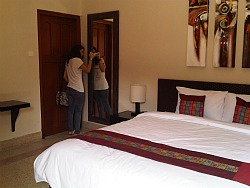 Suite room a Merbabu guest house Malang