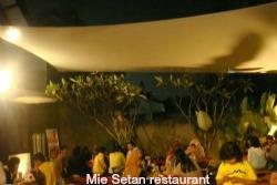 Mie Setan restaurant in Malang