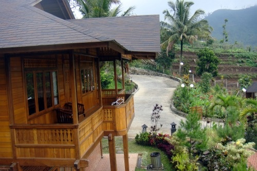 Balcony of a villa in Jambuluwuk Batu