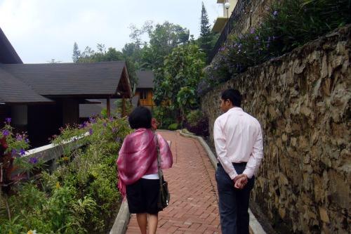 Path to higher place in Jambuluwuk Batu