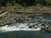 a bridge at Pekalen river