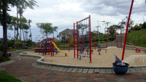 Play ground in Villa Puncak Tidar, Malang