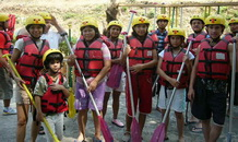 items for wild water rafting