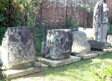 Rest of statues from destroyed temples