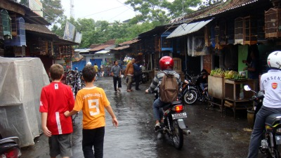 The begin at Animal Market in Malang