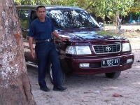 our car with driver to Segoro Anakan